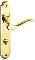 Дверная ручка на планке Baron WC T-028-172 72 G30 золото Nomet