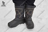 Мужские сапоги с меховым чулком ( Код : Бм-09)