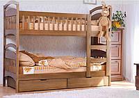 Кровать двухъярусная Арина без ящиков  80х190 Венгер