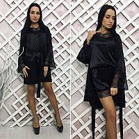 """Женская пижама """" Комбинезон + халат """" Dress Code"""