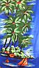 Полотенце пляжное 143х72