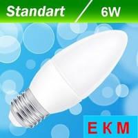 Светодиодная лампа Biom BT-568 C37 6W E27 4500 К