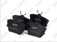 Колодки тормозные дисковые задние комплект  ABE C2W011ABE