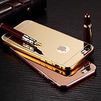 Бампер+зеркальная задняя крышка apple iPhone 6