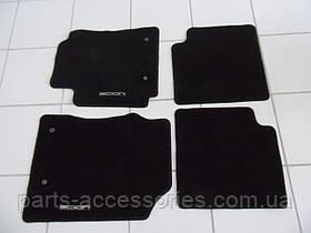 Scion xB 2004-06 велюрові килимки чорні Нові Оригінал