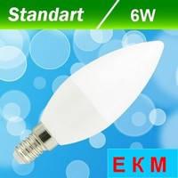 Светодиодная лампа Biom BT-570 C37 6W E14 4500 К