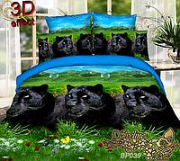 Семейный комплект постельного белья Sveline Tekstil PC039b (поликоттон)