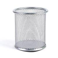 """Подставка для ручек-металл """"Сетка"""" цвет серебристый 7840-S"""