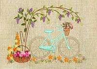 Набор для вышивания нитками Велосипедная прогулка НКШ-4002