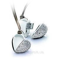 Флешка Бриллиантовое Сердце 8 гб, фото 1