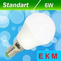 Светодиодная лампа Biom BT-565 G45 6W E14 3000 К