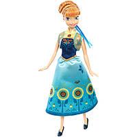 Кукла Анна с косами и снеговиком Frozen Холодное сердце