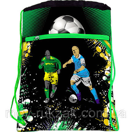 "Сумка для обуви с карманом Josef Otten ""Футбол"" 523126, фото 2"