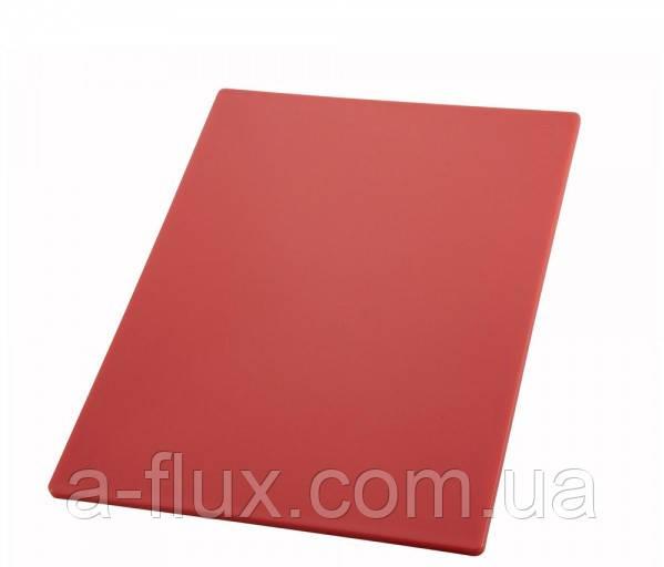 Доска разделочная красная 510*380*13 мм