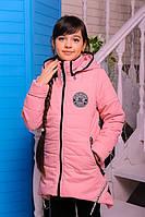 """Демисезонная куртка для девочки """"Мила"""" (розовый)"""