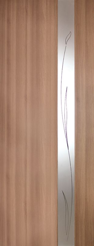 "Межкомнатные двери ""Зеркало 3 ПВХ КР"""