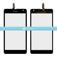 Тачскрин (сенсор) Microsoft Lumia 535 Dual Sim | #CT2S1973FPC-A1-E | черный