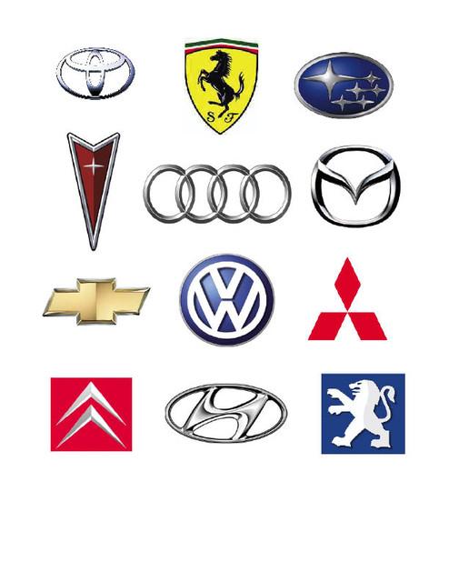 Автомобильные эмблемы, надписи, значки от компании Декоравто!