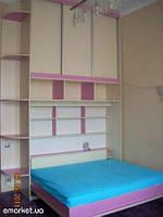 Горизонтальная шкаф-кровать