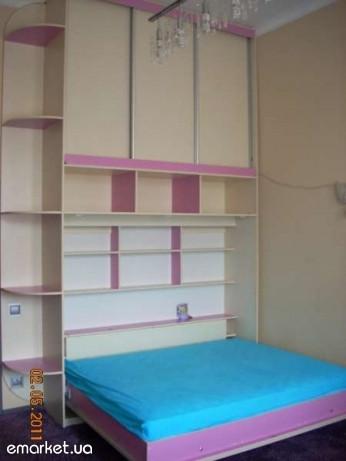 Горизонтальная шкаф-кровать , фото 1