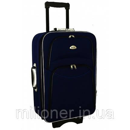 Чемодан сумка 773 (средний) синий, фото 2