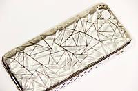 Силиконовый чехол алмазная грань для Apple iPhone 6/6s