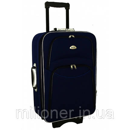 Чемодан сумка 773 (большой) синий, фото 2