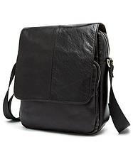 Повседневная мужская кожаная сумка BEXHILL хорошего качества шоколадного цвета