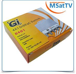 DiSEqC Switch 4x1 GI B401 в кожухе, фото 2