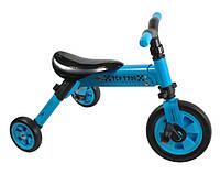 TCV Складной трехколесный велосипед  2 в 1 (синий) (Т701в)