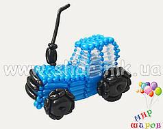 Трактор з повітряних кульок