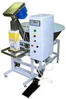 Дозатор весовой АВАНПАК для фасовки пылеподобных продуктов в готовые пакеты до 5 кг