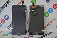 Оригинальный Дисплей (Модуль)+Сенсор (Тачскрин) для Meizu M3  | M3s (Mini) (Черный) + Скотч!