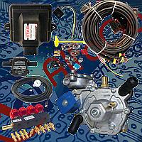 Мини-комплект Stag-4 Go-Fast, Редуктор Artic, Форсунки Valtek, Фильтр