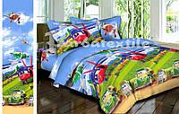 Комплект детского постельного белья Супер крылья