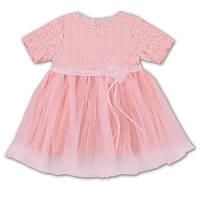Детское платье для девочки, на рост- 80, 92, 104, 116, 122 см. (арт.5-27)