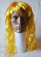 Парик карнавальный желтый