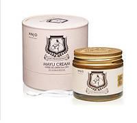 Крем для лица с Mayu для особо чувствительной кожи  ANJO Mayu Horse Oil Cream 70 мл., фото 1