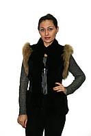 Жилет меховой Oscar Fur 31 Черный