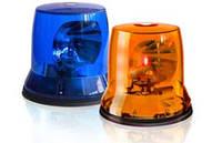 Маяк проблесковый оранжевый, синий СПЕКТР 12В, 24В