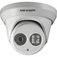 Купольная вандалозащищенная мини IP-камера Hikvision DS-2CD2312-I с EXIR подсветкой, 1,3Mpix