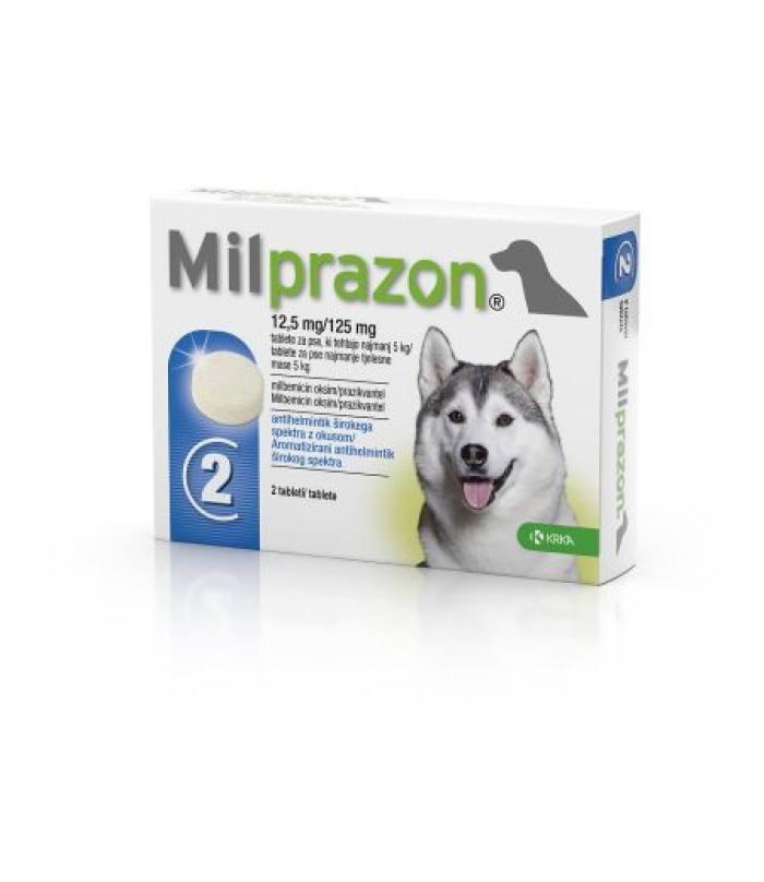 Милпразон - новый антигельминтный препарат с широким спектром действия для собак весом 5-25кг