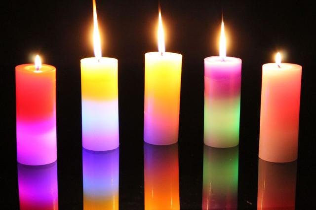 Лед свечи