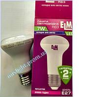 Рефлекторная светодиодная лампа 7W E27 4000K ELM