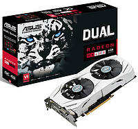 Видеокарта ASUS Radeon RX 480 Dual OC 4GB GDDR5 В НАЛИЧИИ