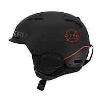 Горнолыжный шлем Giro Discord, матовый чёрный/ярко красный (GT), фото 1