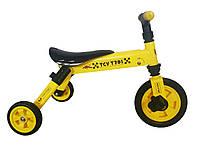 TCV Складной трехколесный велосипед  2 в 1 (желтый) (Т701y)