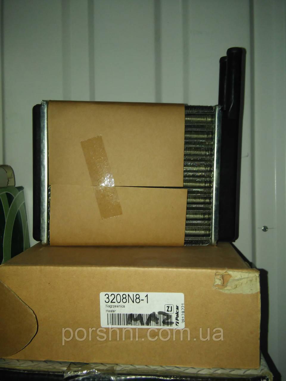 Радиатор  печки  Fiesta  83 -- 89 г.  3208N8-1