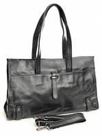 Кожаная женская сумка 008DZ Black