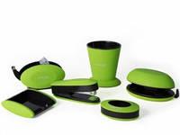 Компания Гудвин Comf pro порадовала новинкой: набором канцтоваров A/SY Comf pro в зеленом, оранжевом, розовом, голубом цветах